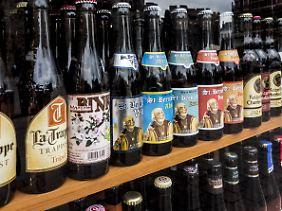 Das belgische Bier ist für seine vielen Sorten bekannt.