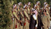 Der saudische Vize-Kronprinz und Verteidigungsminister in Personalunion, Mohammed bin Salman.