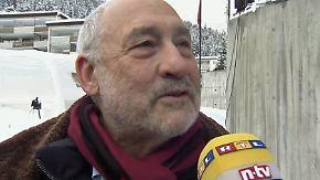 """Nobelpreisträger Stiglitz in Davos: """"2016 könnte noch schlechter werden"""""""