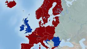 Das Schengener Abkommen regelt den freien Personen- und Warenverkehr in den beteiligten Staaten.