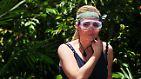 Weil sie zu ihrer nunmehr sechsten Prüfung im Dschungellabor nichts außer gemeine und wilde Tiere erwartet, die ihr höchstwahrscheinlich auf ihrem gepflegten Haupthaar herumtrampeln, entschließt sie sich, nicht anzutreten.