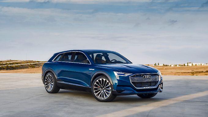 So könnte das Elektro-SUV von Audi aussehen, dessen Produktion 2018 in Serie geht.