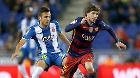 Sergi Roberto ist Barcelonas neue Allzweckwaffe.