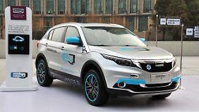 In Zukunft will sich Qoros auch auf die Elektromobilität konzentrieren.
