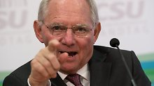 """Finanzminister spricht Warnung aus: Schäuble: """"Niedrigzinsen sind schädlich"""""""