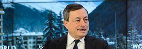 Zuversicht bei Mario Draghi.