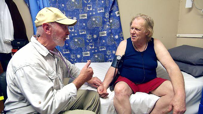 """Bei """"Dr. Bob"""" hatte Gunter Gabriel noch einen guten gesundheitlichen Eindruck hinterlassen."""
