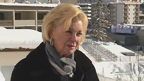 """Liz Mohn in Davos: """"Digitalisierung ist ein enormer Druck für den Menschen"""""""
