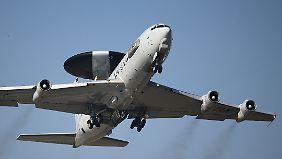 """""""Awacs"""" für Syrien: Nato prüft mögliche Beteiligung am Kampf gegen IS"""