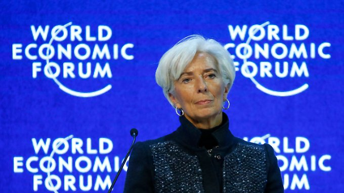 "Sieht ""Brexit"" als Risiko: IWF-Chefin Christine Lagarde."