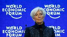 """Lagarde warnt, Osborne auch: """"Brexit""""-Debatte prägt Davos"""