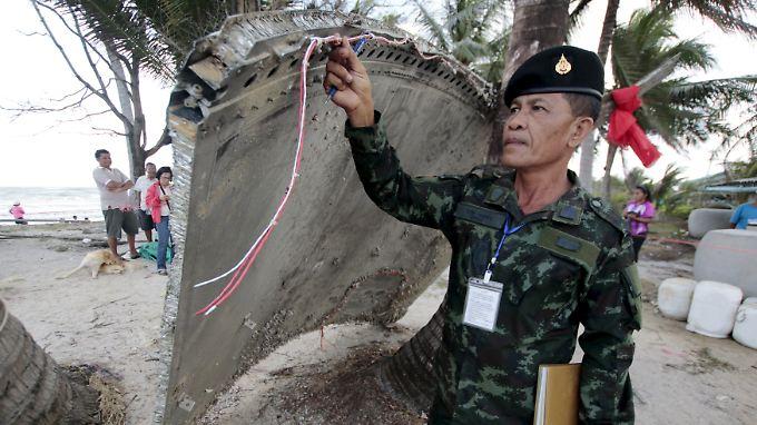 Gehört das gefundene Wrackteil zur abgestürzten Boeing des Fluges MH370?