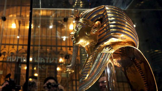 Seit Mitte Dezember ist die Maske wieder zu sehen.