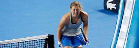 Anna-Lena Friedsam muss ein bitteres Aus bei den Australian Open verkraften.