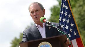 Milliardär nächster US-Präsident?: Medien: Bloomberg will in den Wahlkampf einsteigen