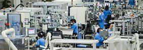 Produktion im Amberger Siemens-Werk.