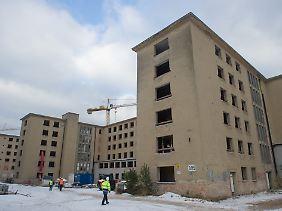 Die Gebäude werden komplett umgebaut.