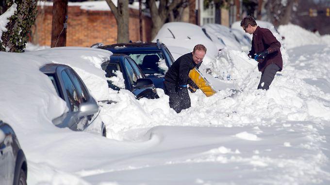 Das Schlimmste ist überstanden: Blizzard an US-Ostküste kostet 18 Menschen das Leben