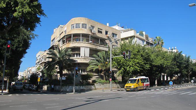 Die Bauhaus-Gebäude sind typisch für Tel Aviv.