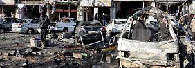 Im syrischen Homs verübt der IS immer wieder Attentate mit vielen Toten.