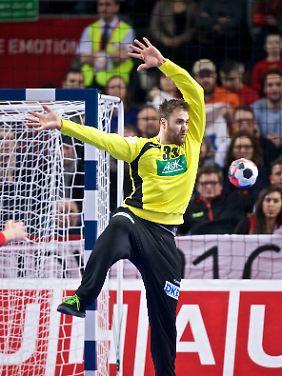 Andreas Wolff hat einen Edelfan: Fußball-Nationaltorwart Manuel Neuer.