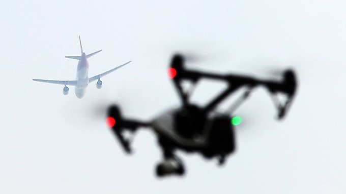 Für Hobby-Drohnenpiloten sind Flughäfen und ihre Umgebung tabu. Die Lufthansa hat jedoch viele Geschäftsideen.