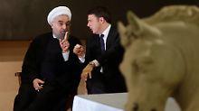 Staatsbesuch aus dem Iran: Rom verhüllt nackte Statuen