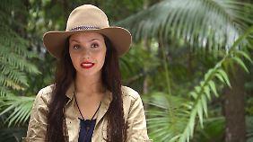 """Die 21-Jährige Dschungelcamperin wurde 2014 mit ihrer Teilnahme an der Catsing-Sendung """"Germanys Next Topmodel"""" bekannt."""