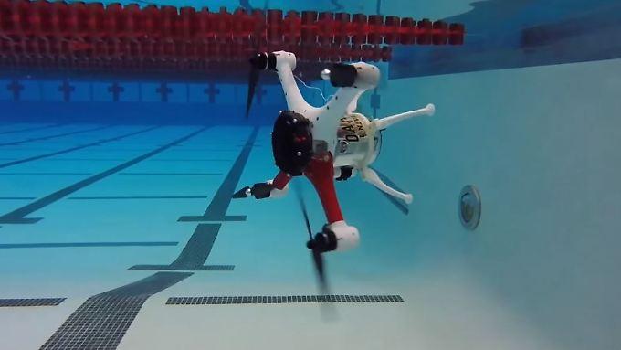 Der Loon Copter fühlt sich im Wasser und in der Luft gleichermaßen wohl.