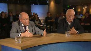 n-tv Talk Spezial: Gysi und Gauweiler diskutieren den Monat
