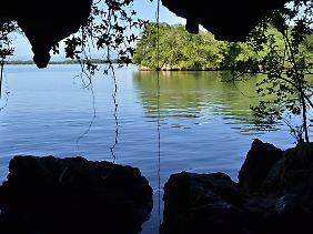 Eine malerische Sicht auf Los Haitises