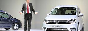 Kompakter Stadtlieferwagen: Für VW ist der Caddy zahlenmäßig das zweitwichtigste Modell der Nutzfahrzeugsparte hinter dem Bulli-Nachfolger Transporter.