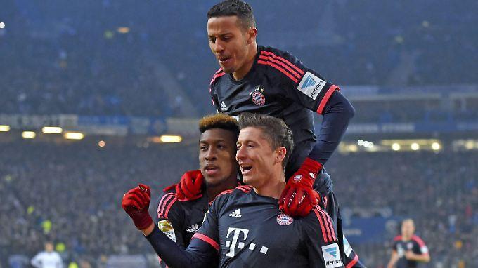 Läuft super, auch für den FC Bayern.