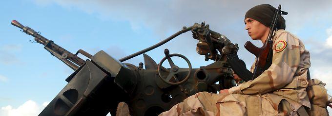 Ein Land voller Waffen: In Libyen fehlt eine starke, allseits anerkannte Staatsgewalt.