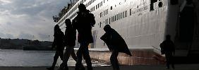 Schlechter Grenzzschutz: EU droht Athen mit Schengen-Rauswurf