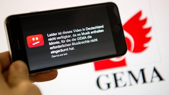 Ein Bild, das jeder Youtube-Nutzer schon einmal gesehen hat - eine Lösung ist bislang nicht in Sicht.