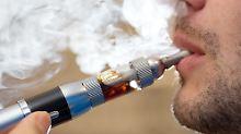 Fragen und Antworten: Wie gefährlich sind E-Zigarette und E-Shisha?