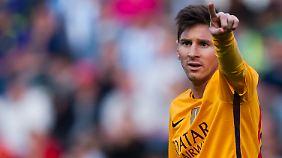 Den hätten sie in Madrid gerne: Lionel Messi.
