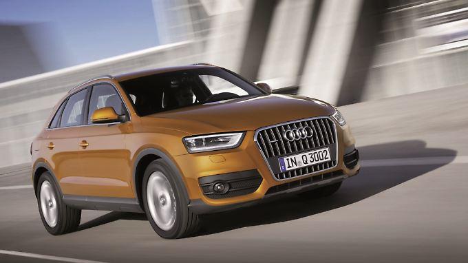 Seit Herbst 2011 ist das kleinste SUV von Audi auf dem Markt.