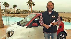 Drei Autos in einem: Smart fortwo Cabrio bedeutet positiven Verzicht