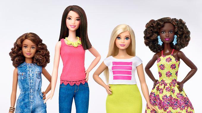 Barbie-Puppen bekommen nach mehr als einem halben Jahrhundert eine neue Figur.