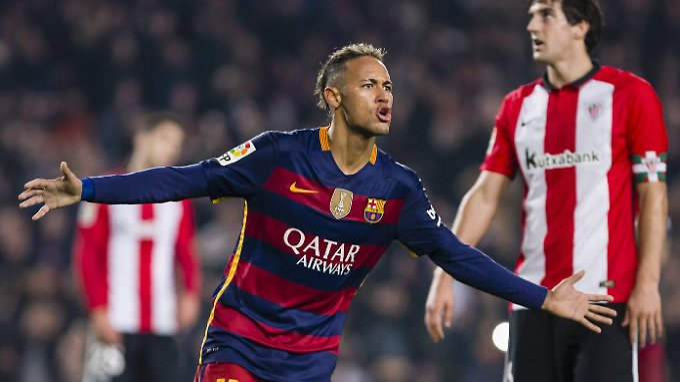 """.""""Ich kann keine Pässe spielen, ich bin ein Dribbler"""": Neymar."""