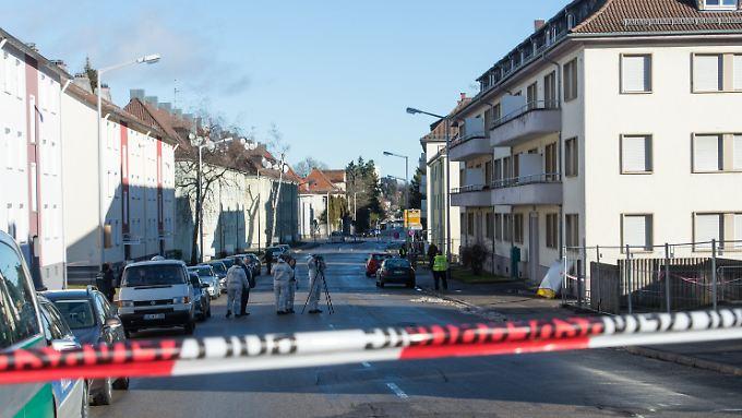 Sprengkörper kontrolliert entschärft: Unbekannte werfen Handgranate auf Flüchtlingsheim