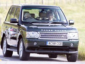 Inzwischen fährt die Queen ein neueres Modell.
