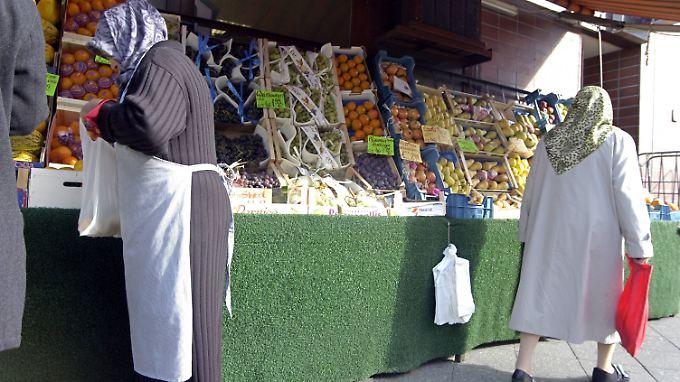 Ein türkischer Supermarkt in Berlin-Wedding.