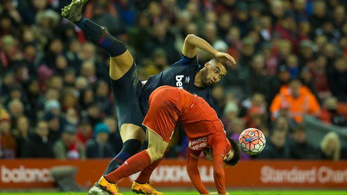 Interessante Posen gab es - für Tore hat es jedoch weder bei Liverpool noch bei West Ham United gereicht.