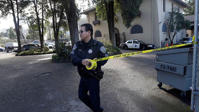 Die Polizei von San Francisco feierte die Festnahme.