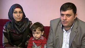 Was bringen die Friedensgespräche?: Syrische Flüchtlingsfamilie hat wenig Hoffnung