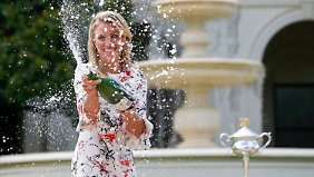 """""""Die beste Zeit meines Lebens"""": Angelique Kerber feiert ihren Grand-Slam-Sieg"""
