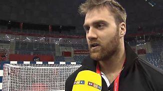 """Andreas Wolff vor dem Finale: """"Wir haben wahrscheinlich mehr Kraft als die Spanier"""""""